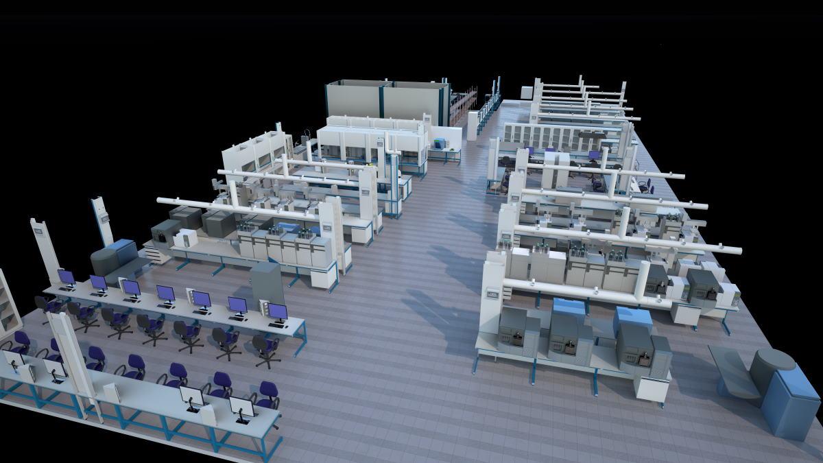 laboratorty 3d design example ebgineering